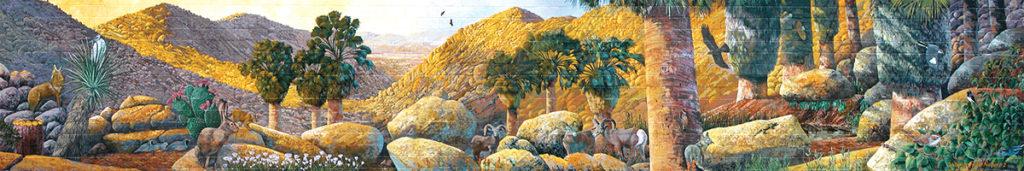 Neighbors in Nature 2 mural, 29 Palms, California
