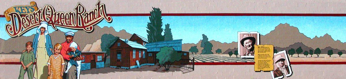 Desert Queen Ranch mural, 29 Palms, California